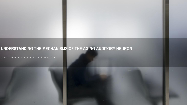 Dr. Ebenezer Yamoah: Understanding the Mechanisms of the Aging Auditory Neuron